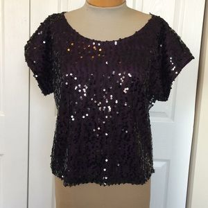 EUC laundry by Shelli Segal Top